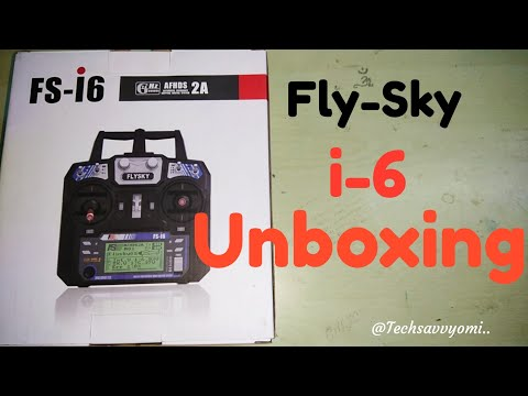 Flysky FS - i6 Tx Rx unboxing in Hindi || 2.4GHz rc controller