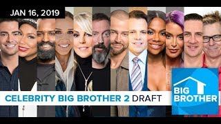Download Big Brother Celebrity 2019 Cast Draft Special Video