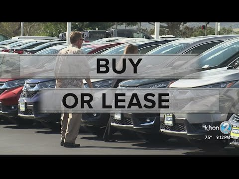 Buy or lease? When it comes to getting a new car, experts explain which is the better option