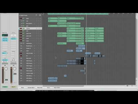 Working on a new Hardstyle track in Logic Pro (part 1)