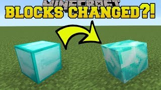 MINECRAFT BLOCKS ARE CHANGING FOREVER!!!