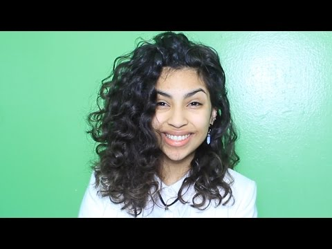 Short Curly Hair Routine