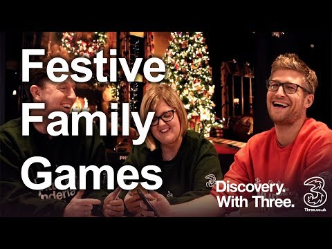 Festive family games   Christmas Fun   Discovery with Three