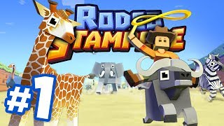 RIDE ALL THE ANIMALS!!! - Rodeo Stampede   Part 1