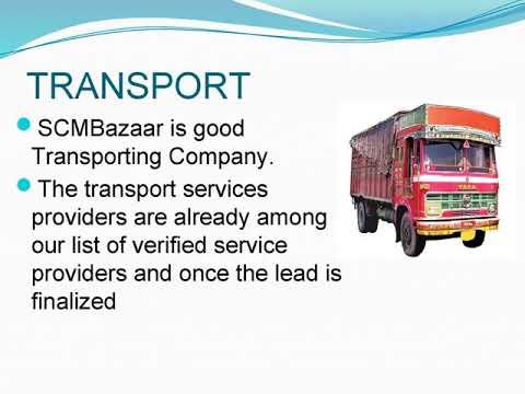 Truck Transport Companies | SCMBazaar