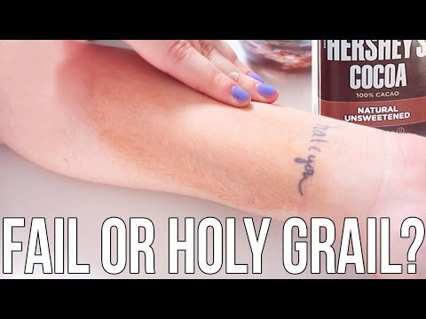 Beauty Hacks: Fail or Holy Grail? ♥ Cocoa Powder Self Tanner | Ellko