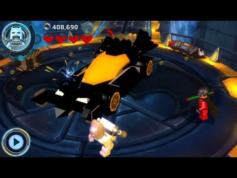 LEGO Batman 3: Beyond Gotham (3DS/Vita) 100% Guide - The Batcave Hub Area