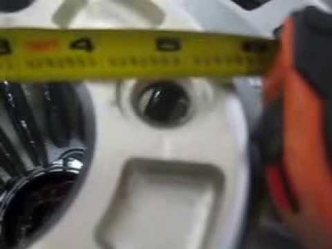 How to measure a wheels bolt pattern, 5 lug edition.