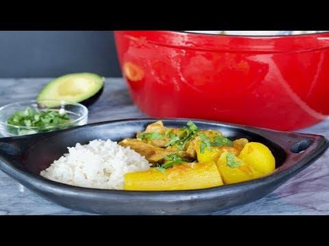 Colombian Pork Ribs Stew Recipe   How To Make Pork Stew   SyS