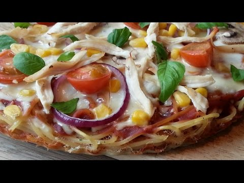Slimming Recipes - Spaghetti Pizza