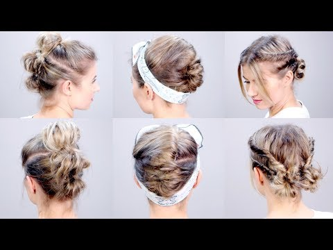 SUPER EASY Short Hairstyles Tutorial | Milabu