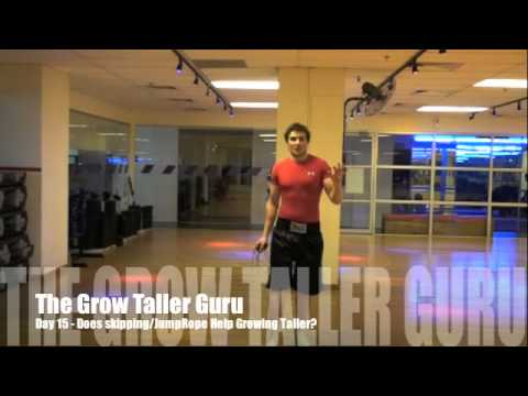 Does Skipping / JumpRope Help Growing Taller? GTG (Grow Taller Guru)