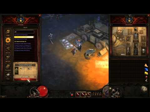 Diablo III - GamesCom Artisan Crafting-System!