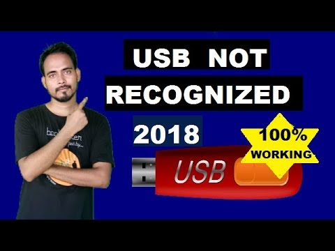 How To Fix USB Ports Not Working or Not Recognized (Windows 10, 8.1, 8, 7 and Vista)