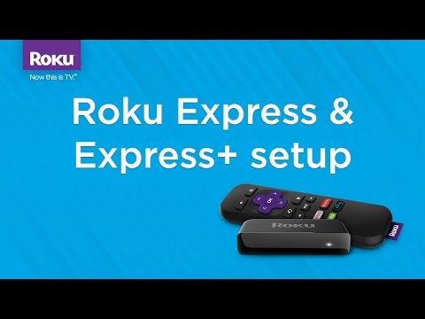 How to set up the Roku Express/Express+ (Model 3700/3710)