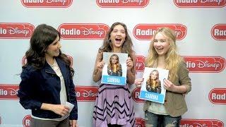 Rowan Blanchard and Sabrina Carpenter Who Is More Likely   Radio Disney Insider   Radio Disney
