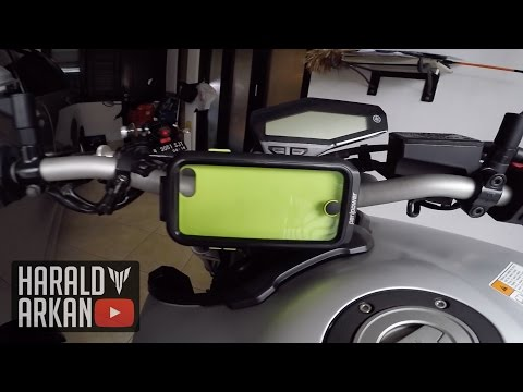Review Phone Holder/Mount untuk di Motor #motovlog