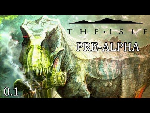 The Isle | PRE-ALPHA DINOSAUR GAME! |