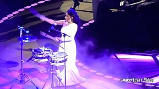 Sheila E. at Prince concert in Oakland. Ca.