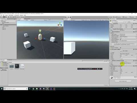 Unity 2018.2 First Person Adventure Game Tutorial 4 - Mouse movement, camera & player rotation