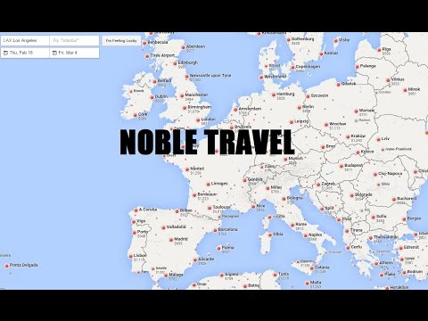 How to find the best and cheapest airfare to Europe. Two Week Eurotrip. Series Two, Video Two.