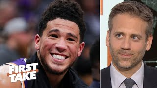 Max Kellerman no longer thinks Devin Booker is overrated   First Take