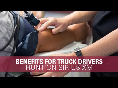 Comprehensive Benefits for Truck Drivers - Hunt Flatbed on SiriusXM
