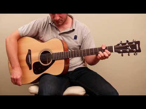 Yamaha FS800 - Acoustic guitar sound sample