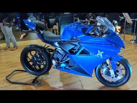 Emflux One Sports electric bike in Hindi   0-100km/hr in 3 seconds   MotorOctane