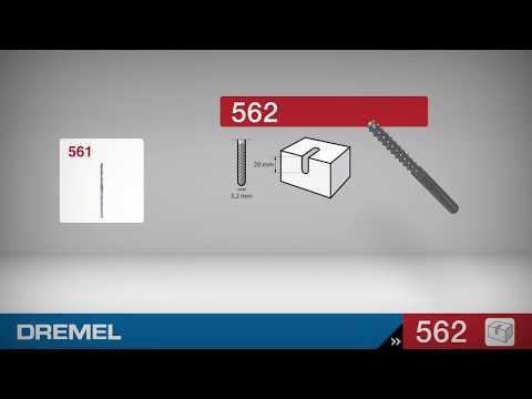 Dremel - Spiral Tile Cutting Bit (562)