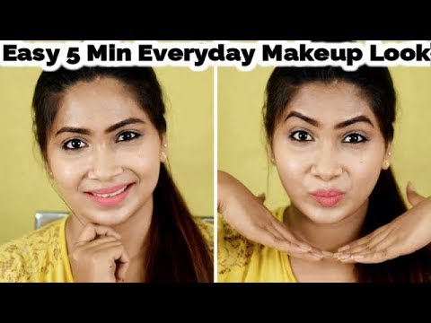 Simple 5 Min Everyday Makeup Look For Beginners | Rabia Skincare