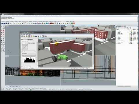 Basic rendering in Rhino 5