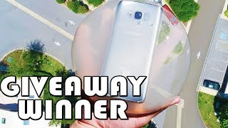 Selecting Galaxy S8 Winner (LIVE) from Japanese Raindrop Cake!
