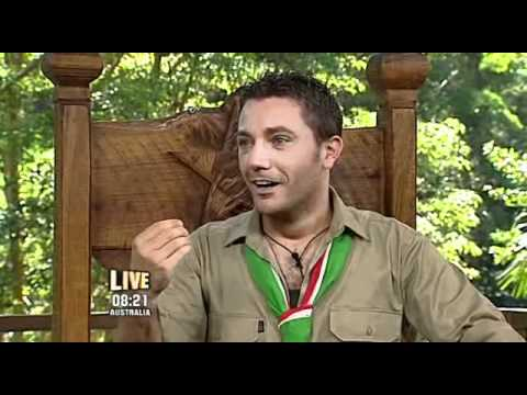 I'm a Celebrity... 2009 - Gino is Crowned King of the Jungle