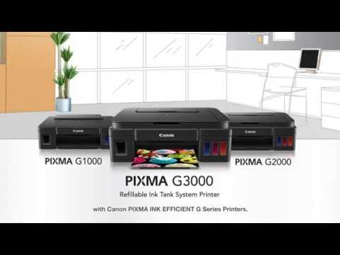 Canon PIXMA Ink Efficient G Series Printers