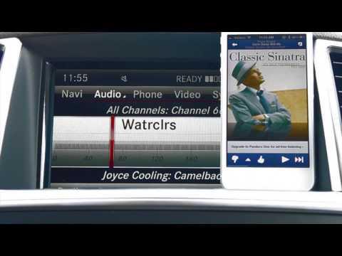 Listen to Pandora using Bluetooth