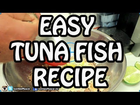 Tuna Fish Recipe - tuna salad - albacore tuna wrap - tuna sandwich - fish recipes