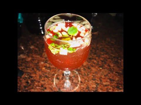 (Malayalam)Christmas punch/Non Alcoholic/Easy Fruit Punch-Malayalam