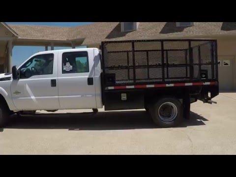 Hd Video 2012 Ford F350 Xl Landscape Work Truck Diesel For Sale Info