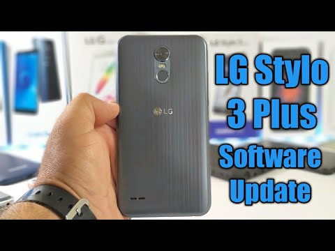 LG Stylo 3 Plus Software update is available