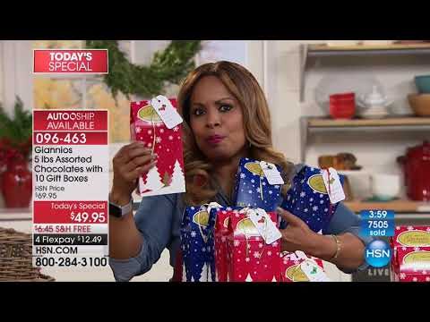HSN | Holiday Entertaining featuring Giannios 11.03.2017 - 04 PM