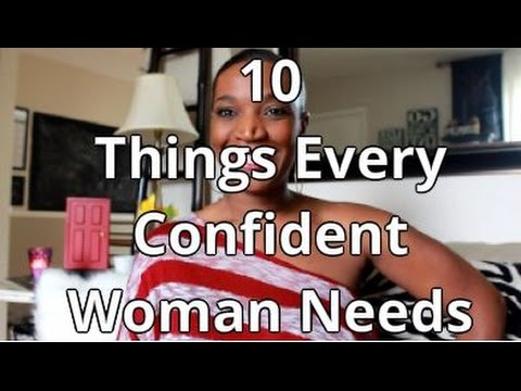 10 Things Every Confident Woman Needs