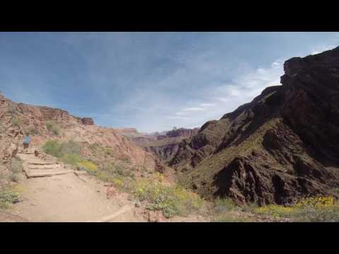 Grand Canyon - part 2 - Bright Angel Campground to Indian Garden Campground