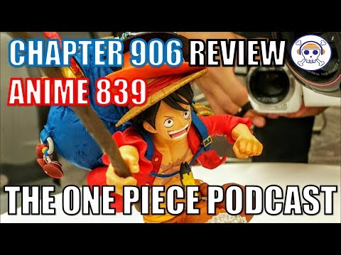 """The One Piece Podcast, Episode 522, """"It's a Hat on a Hat"""" (Chapter 906, Anime 839)"""