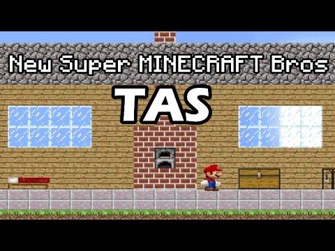 [TAS] New Super MINECRAFT Bros | New Super Mario Bros DS Hack