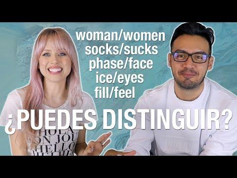 Palabras en inglés que confunden   MINIMAL PAIRS parte 1