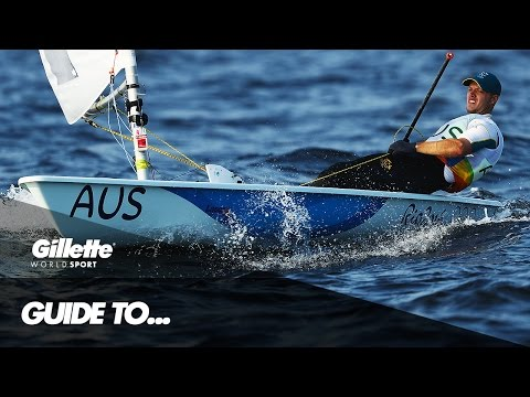 Guide to Laser Class Sailing with Olympic Gold Medallist Tom Burton   Gillette World Sport