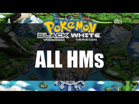 Pokemon Black and White | All HM Locations