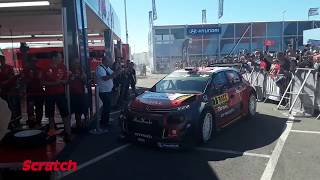 Kris Meeke celebra su victoria en el RallyRACC 2017