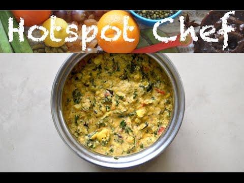 PONNANGANNI KEERAI KOOTU (RED DWARF COPPER LEAVES STEW) - South Indian Recipe